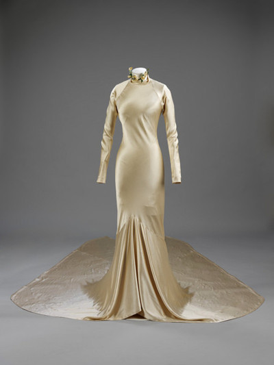 Charles James Wedding Dress, V&A Museum, 1934